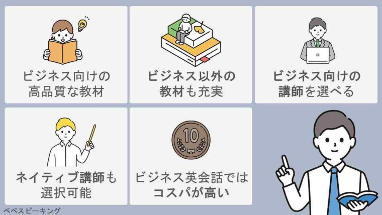 DMM英会話でビジネス英会話を学習する5つのメリット